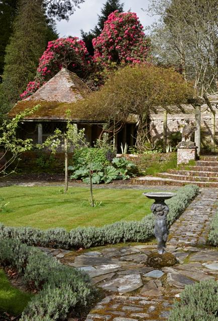 Trewithen House garden