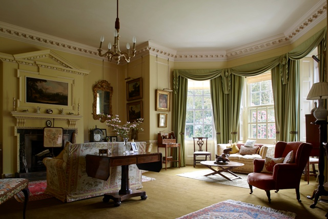 Trewithen House interior shot