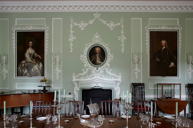 Trewithen House interior