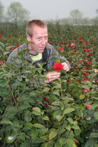 Trewithen's Head Gardener Gary Long in China